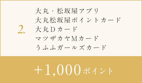 c94a94d07f 大丸松坂屋ポイントカード・大丸Dカード・マツザカヤMカード・うふふ